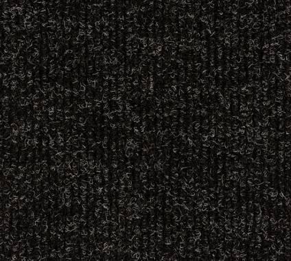 Nadelfilz Heavyrib, mel-schwarz