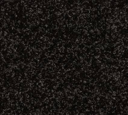 Nadelfilz Heavyfleece, mel-schwarz