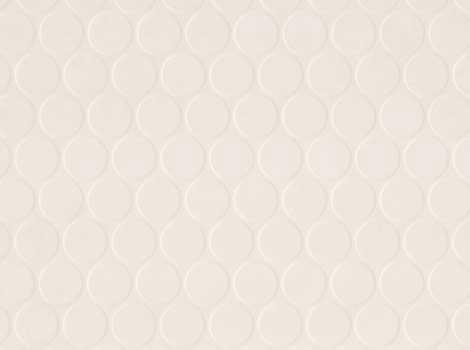 PVC Design - Noppe, weiß