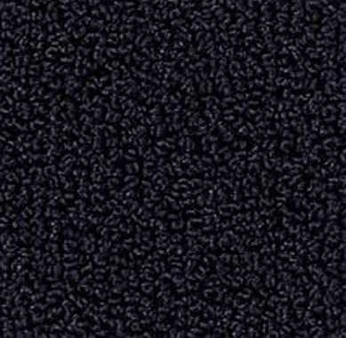 Kräuselschlinge glanz - kobalt