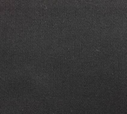 Satin-Molton - schwarz