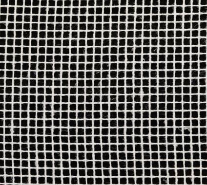 Gitternetz Baumwolle - weiß, 3,1 m breit