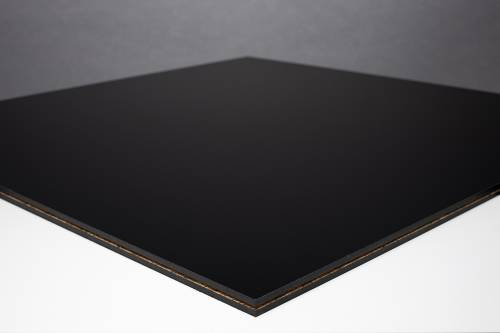 Fastfloor - schwarz, matt - 1,00 x 1,00 m