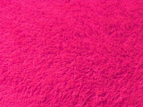 Shag neon pink