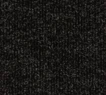 Nadelfilz Heavyrib, mel-schwarz mel-schwarz 2,00 m breit, schwer entflammbar nach EN 13501-1, Klasse Cfl/s1