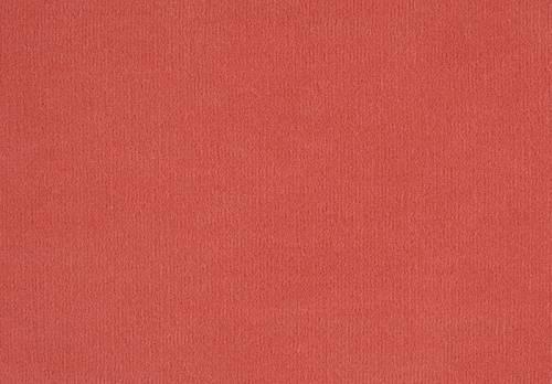 Velours Tara - erdbeerrot