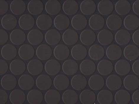 PVC Design - Noppe, schwarz