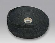 Klettband schwarz, selbstklebend