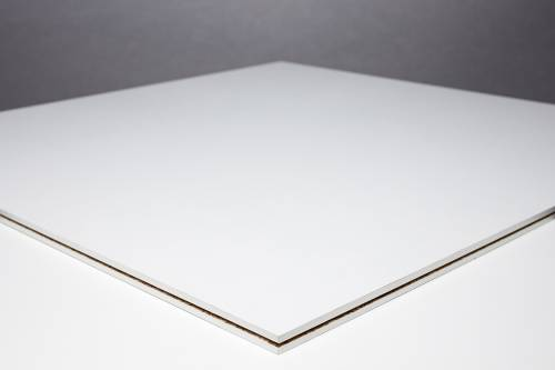 Fastfloor - weiß, matt - 1,00 x 1,00 m